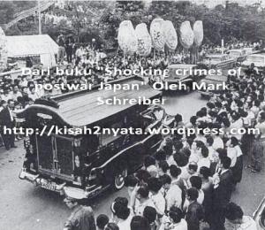 Ribuan warga Tokyo memadati jalan pada prosesi pemakaman Yoshinobu