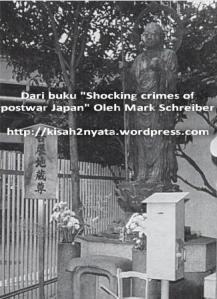 Jizo - patung Dewa Pelindung didirikan di dekat Stasiun Minami Senju (Tokyo) untuk mengenang Yoshinobu